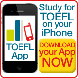 TOEFL iPhone App